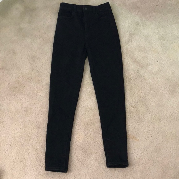 American Eagle Outfitters Denim - American Eagle High Waisted Black Jeans